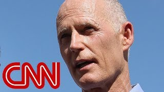 Florida Gov. Rick Scott challenged on gun laws