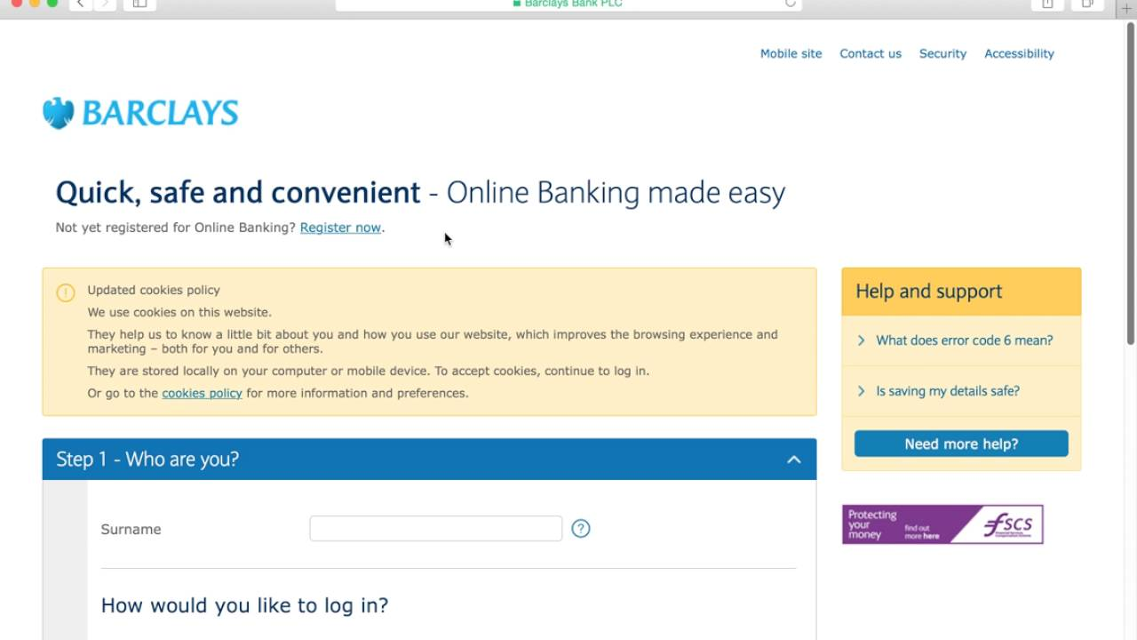 barclays bank online banking login instructions youtube rh youtube com