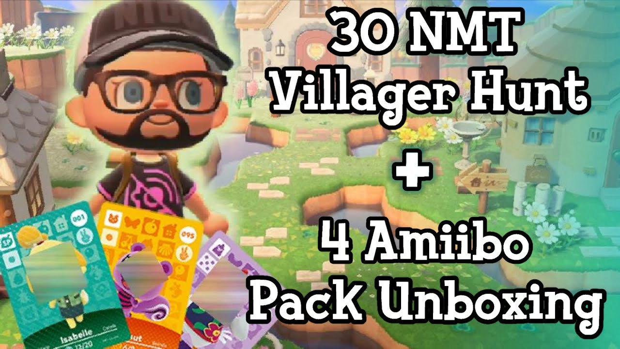Villager Hunt AND Amiibo Unboxing
