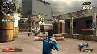 Pursuit Force: Extreme Justice  gameplay (PSP)