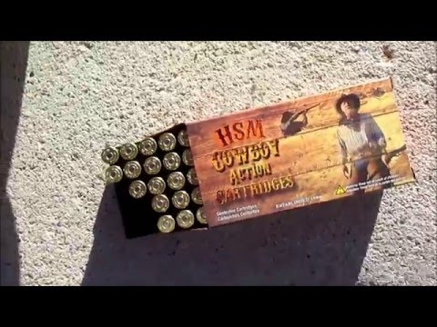 Trying Out HSM Ammo 45 Colt