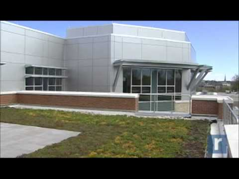 A tour of the new building at SUNY Orange