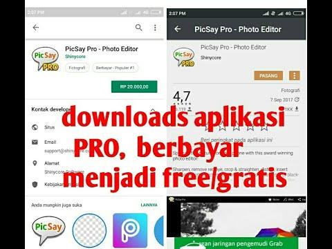 Cara Download Aplikasi Pro Berbayar Menjadi Gratis