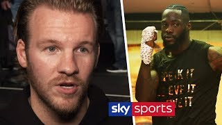 Ben Davison states what is DIFFERENT about Deontay Wilder since Tyson Fury fight