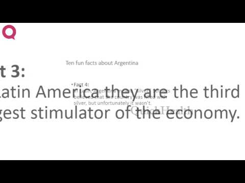 Ten facts about Argentina | MY HEALTH | HEALTH TIPS