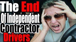 The End Of Independent Contractor Driving - $10 Per Hour - Doordash Grubhub Ubereats Money Tips