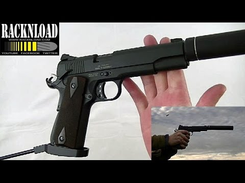 GSG 1911 Long Barrel Pistol (UK) **FULL REVIEW** by RACKNLOAD
