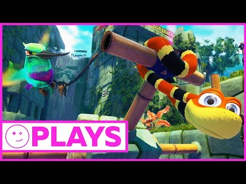 Let's Get Drunk And Play Snake Pass - Kinda Funny Plays
