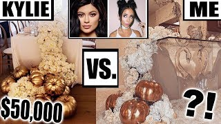 HOW TO DIY A CELEBRITY THANKSGIVING *for cheap!*