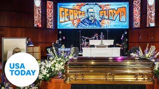 George Floyd's memorial service held in Minneapolis | USA TODAY