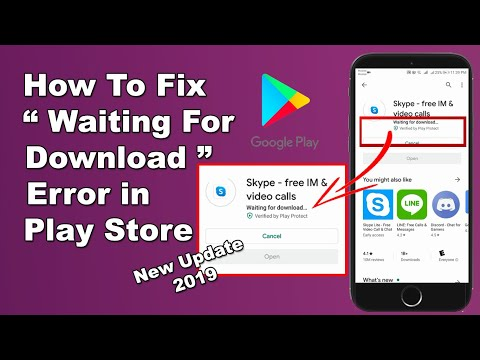 How To Fix Waiting For Download (Download Pending) Error In Google Play Store