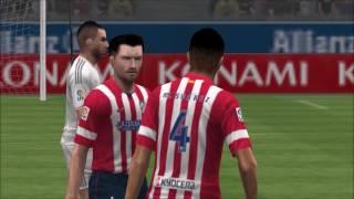 Pro Evolution Soccer 2014 PSP Gameplay HD