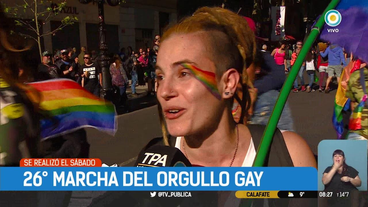 Marcha Del Orgullo Gay En Buenos Aires Tpanoticias Youtube