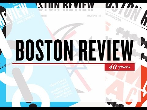 40 Years of Boston Review