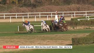 Vidéo de la course PMU PRIX DU PAU HUNT RACES