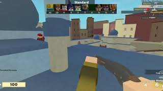 (11 kill streak) Roblox Arsenal Full Match #3