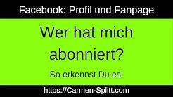 Facebook: Wer hat mich abonniert? Hier gibt es die Antwort