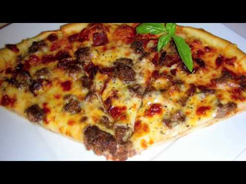 Bacon Cheeseburger Pizza Recipe – Dough and Sauce from Scratch