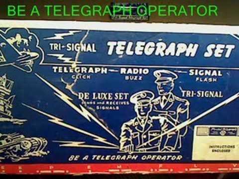 Tri-Signal Telegraph Set