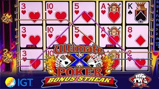 Ultimate X Spin Poker from IGT