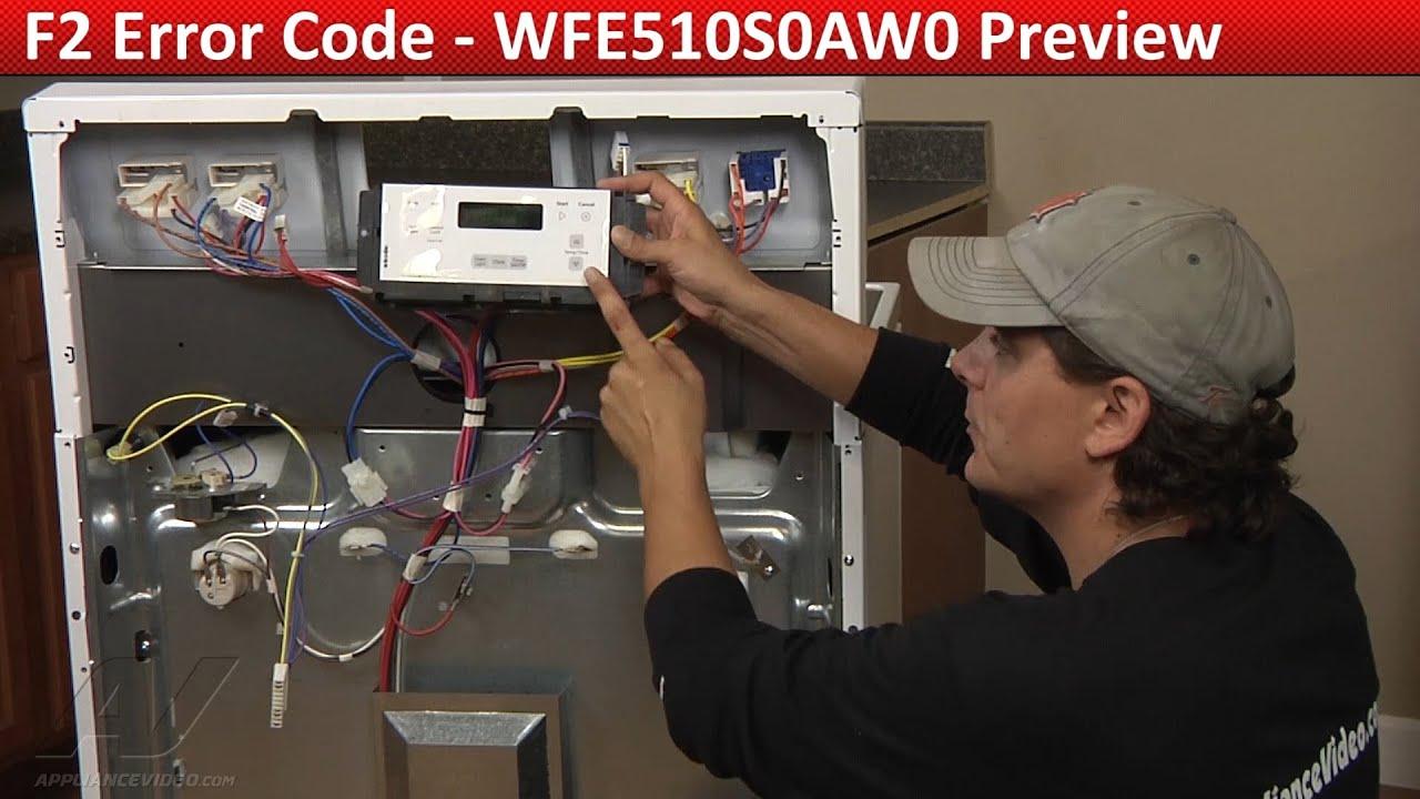F2 Error Code Whirlpool Maytag Amp Kenmore Range