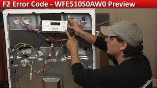 f2 error code whirlpool maytag kenmore range diagnostic and repair