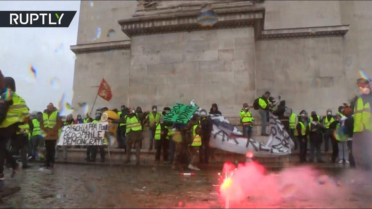 Трамп обратил внимание на беспорядки в Париже