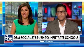 Knowles Discusses Dem Socialists Pushing to Infiltrate Schools