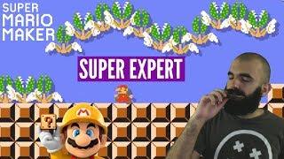 Super Expert Blues   Super Expert No Skip Challenge   Mario Maker [#24]
