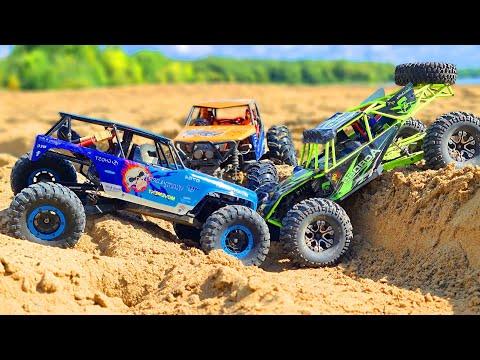 RC CARS Sand Storm Racing – 2 WlToys 10428 VS All