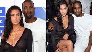 Kim Kardashian & Kanye West Get Coupled Up On The 2016 MTV VMAs Red Carpet