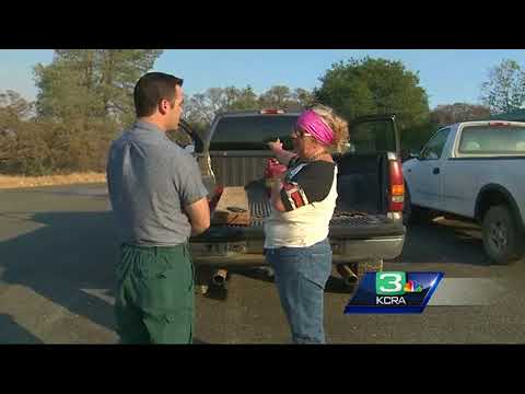 Hundreds take shelter after Yuba County wildfire forces evacuations