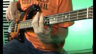 The Doobie Brothers - China Grove - Bass Cover