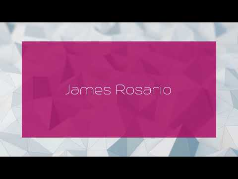 James Rosario - appearance