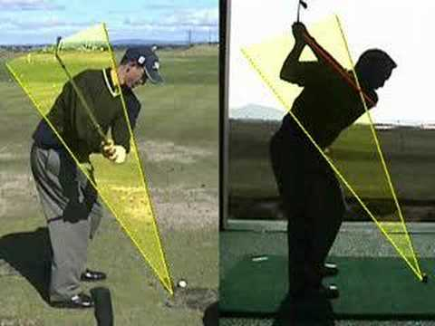 correct golf swing - YouTube
