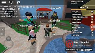 Playing Roblox (Mistery marderer)