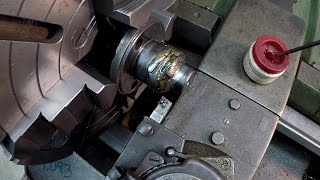 Turning Weld Build Up With High Speed Steel