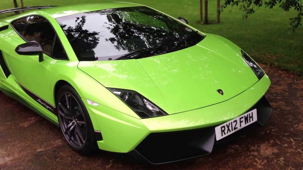 My Brand New Lamborghini Superleggera Gallardo Lime Green
