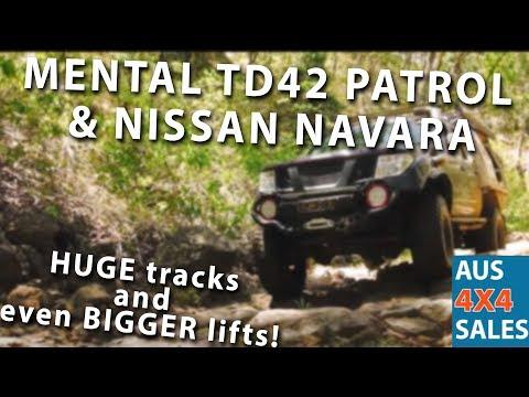 SASED NISSAN D40 B & NISSAN TD42 PATROL - YouTube