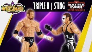 WWE FIGURE INSIDER: Sting & Triple H - WWE Battle Packs
