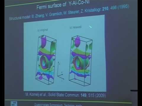 "Prof. Janez Dolinsek - ""Decagonal Quasicrystals-2D or 3D Solids"""