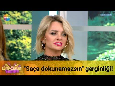 """Emina ve Suat arasında """"saça dokunamazsın"""" gerginliği!"""