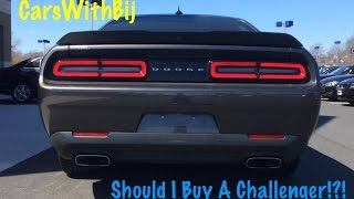 Should I buy A Dodge Challenger!?! - Scat Pack Test Drive