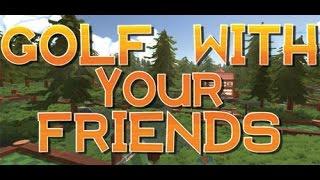 Гольф c друзьями/golf with friends