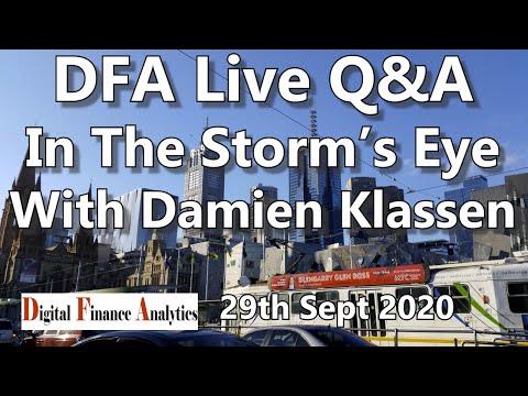 DFA Live Q&A - In The Storm's Eye With Damien Klassen  [20:00 Sydney]