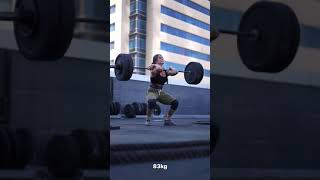 Clean and Jerk - Weightlifting Workout For Crossfit Games   Crossfit Athlete
