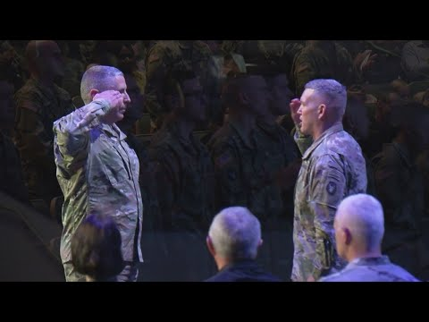National Guard Members Deploying To Middle East