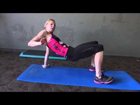 How to do a Reverse Bridge Exercise with Krista Schultz