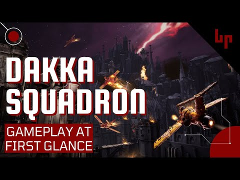 Warhammer 40,000: Dakka Squadron - Flyboyz Edition - Gameplay At First Glance - Orks and Jets! |