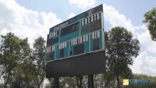 Eastman Raiders Install New Scoreboard